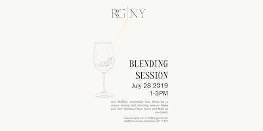 Blending Session at RG|NY - July Session
