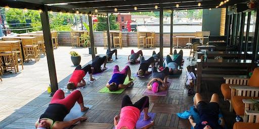 Yoga at Hopcat