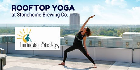 Rooftop Yoga at Stonehome Brewing Co Bismarck tickets