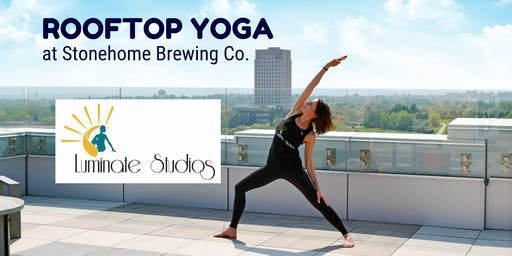 Rooftop Yoga at Stonehome Brewing Co Bismarck