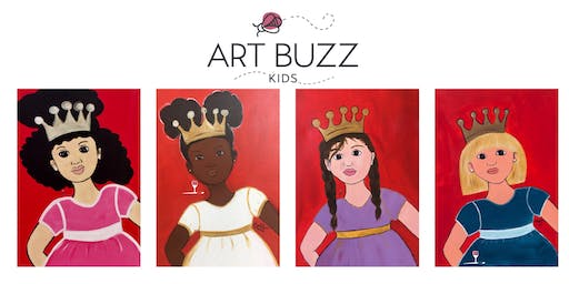 Wine & Design - Art Buzz Kids Painting in the Park Series - August 24