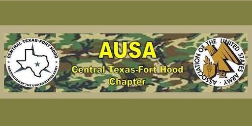 AUSA Ft Hood Chapter General Membership Meeting:  Mon, June 17, 2019