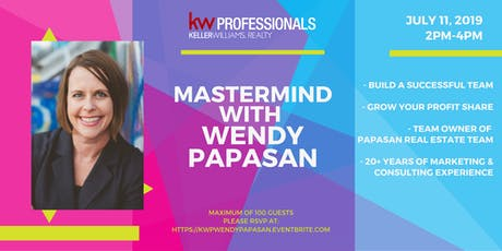 Mastermind with Wendy Papasan tickets