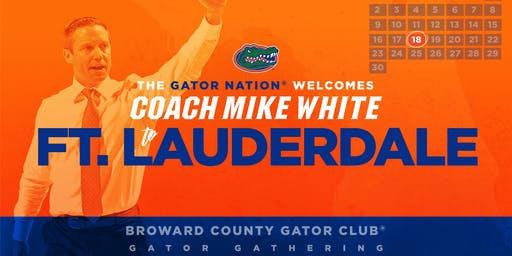 Gator Gathering with Coach White