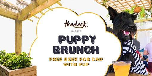 Puppy Brunch at thedeck in The Wynwood Marketplace
