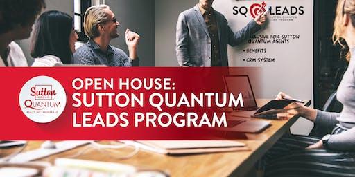 Open House: SQ Leads Program (multiple dates)