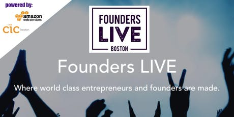 Founders Live Boston! tickets