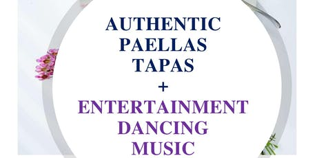 Authentic Paella Valenciana Plus Latino Dancing tickets