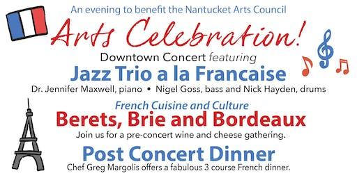 Nantucket Arts Council June 27th ARTS CELEBRATION