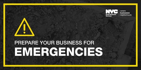 Protect Your Business: Prepare for Business Disruptions tickets