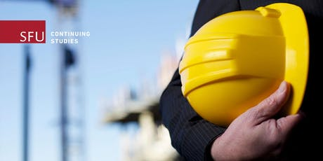 Occupational Health & Safety Certificate Info Session (Online)—September 5, 2019 tickets