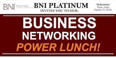 FREE Networking Lunch -Come Connect With Us