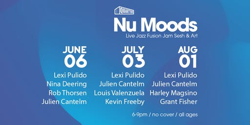 Summer NU MOODS: Live Jazz Fusion Jam