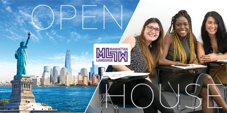 Manhattan Language English Program - Open House!  tickets