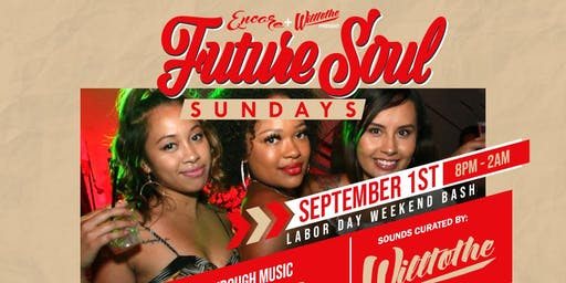Future Soul Sundays at Hanovers 2.0 | 9.1
