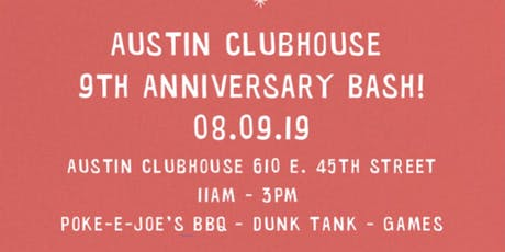 Austin Clubhouse 9th Anniversary Bash! tickets