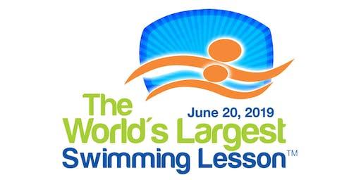 The World's Largest Swim Lesson