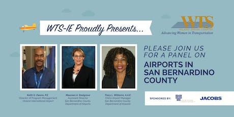 WTS-IE June Luncheon: Airports in San Bernardino County tickets