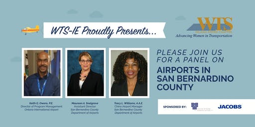 WTS-IE June Luncheon: Airports in San Bernardino County