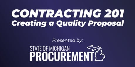 Contracting 201: Creating a Quality Proposal tickets
