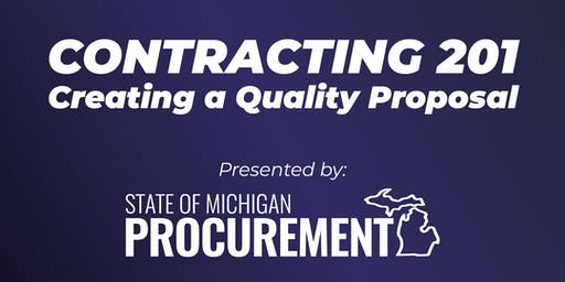 Contracting 201: Creating a Quality Proposal