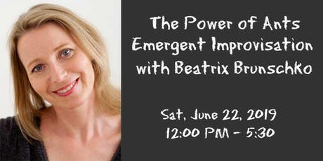 The Power of Ants - Emergent Improvisation with Beatrix Brunschko tickets