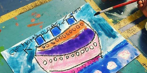 Under the Sea Art Camp Ages 5 to 7