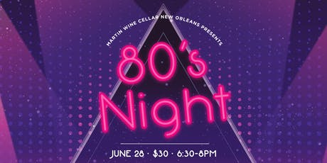 80's Night tickets