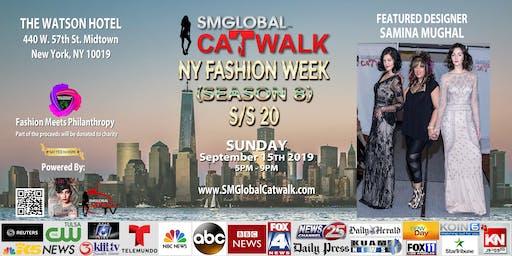 SMGlobal Catwalk - NY FASHION WEEK S/S20 (Season 8) 9.15.19