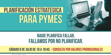 Planificación Estratégica para Pymes entradas