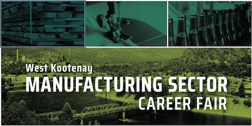 Castlegar Manufacturing Sector Career Fair