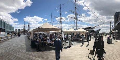 Sunday Outdoor Fulton Stall Market on Pier 17! FREE tickets