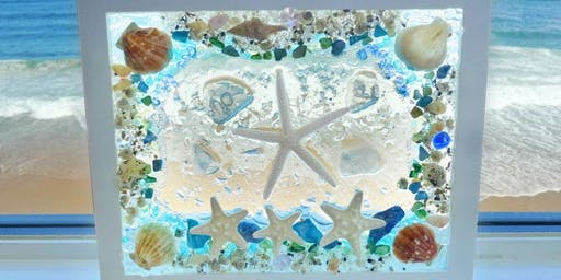 7/22 Seascape Window Workshop@Seaglass Restaurant