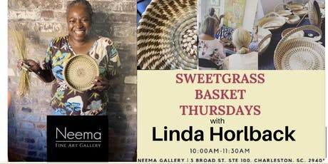 Sweetgrass Thursdays at Neema Gallery - Charleston tickets