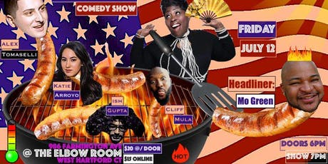 Wet Hot Sticky Comedy Show tickets