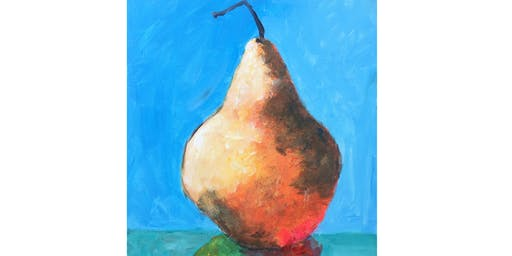 Pear Still Life Paint & Sip Night - Wine, Beer Included