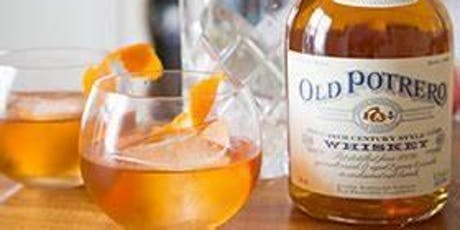 Whiskey Wednesday launch with Old Potrero Spirits tickets