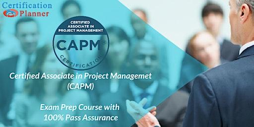 Certified Associate in Project Management (CAPM) Bootcamp in Wichita