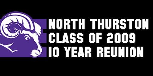 NTHS Class of 2009 10 Year Reunion Weekend