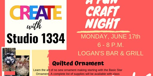 Studio 1334 Craft Night