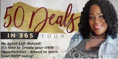 Coach Ella Presents 50 Deals in 365 Tour tickets