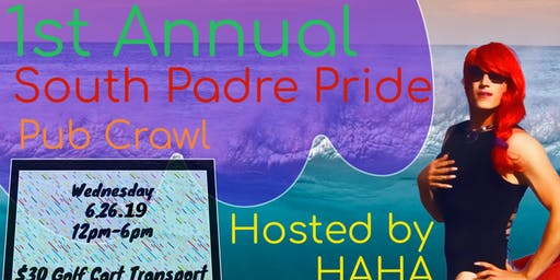 South Padre Pride Pub Crawl