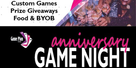 1st Year Anniversary Game Night tickets