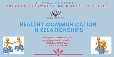 Prevention/Awareness Series: Healthy Communication in Relationships