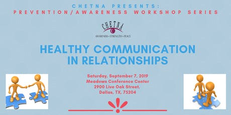Prevention/Awareness Series: Healthy Communication in Relationships tickets