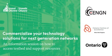 Commercialize your technology solutions for next generation networks tickets