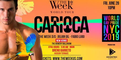The Week World Tour 2019 Carioca Pride Party tickets