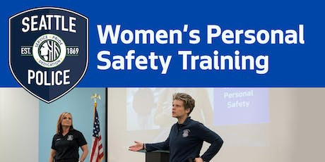 Queen Anne Comm Center- Women's Personal Safety Training tickets