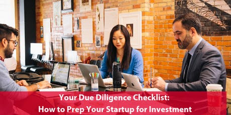 Your Due Diligence Checklist: How to Prep Your Startup for Investment tickets
