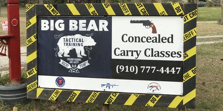 Copy of Big Bear Ranch Concealed Carry Class ($100)  tickets
